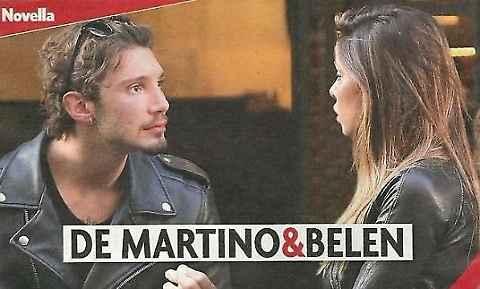 Belen Rodriguez e Stefano De Martino: lite in strada a Milano