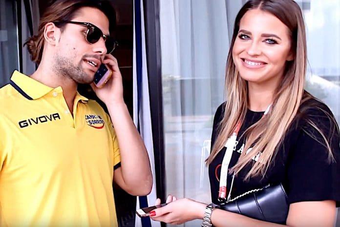 Luca Onestini e Ivana Mrazova