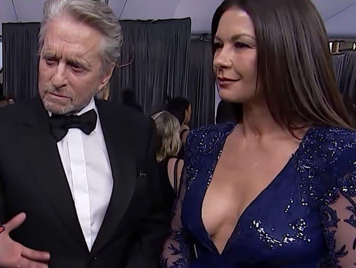 Michael Douglas e Catherine Zeta Jones